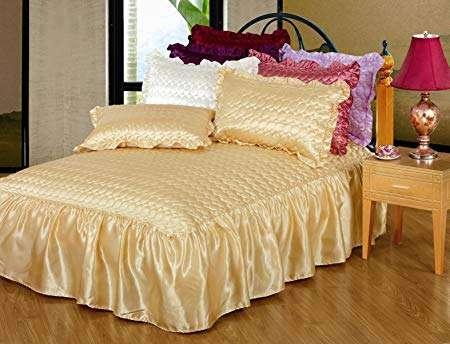 缎面缝床罩 制造商