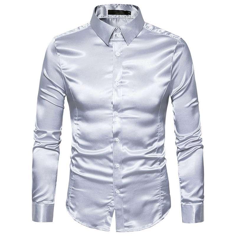缎衬衫男 制造商