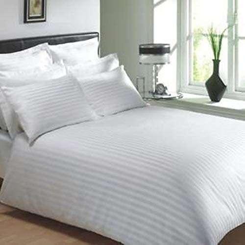 缎纹条纹床罩 制造商