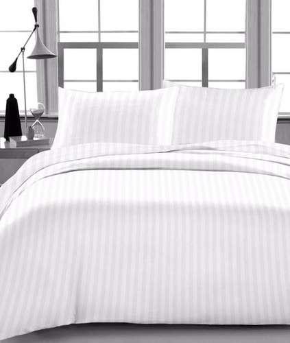 缎纹条纹床单 制造商
