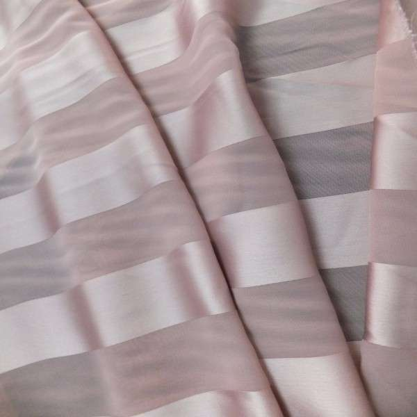 Satin Striped Chiffon Manufacturers