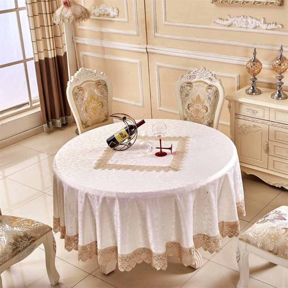 缎纹桌布 制造商