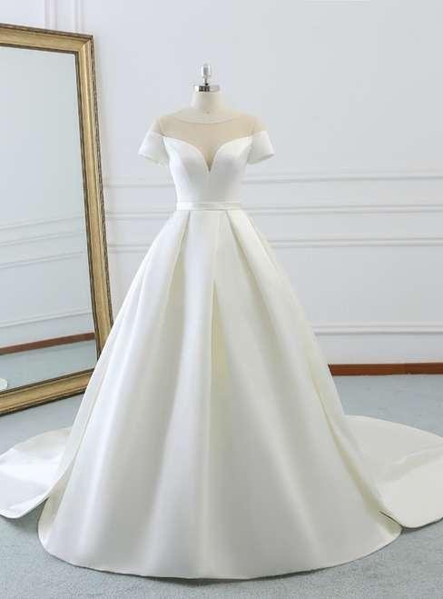 Satin Wedding Gown Manufacturers