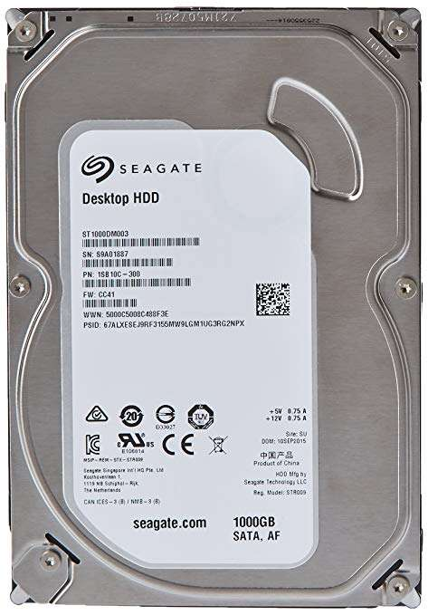 Seagate Internal Drive Manufacturers