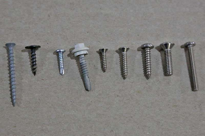 Sheet Metal Screw Wood Manufacturers