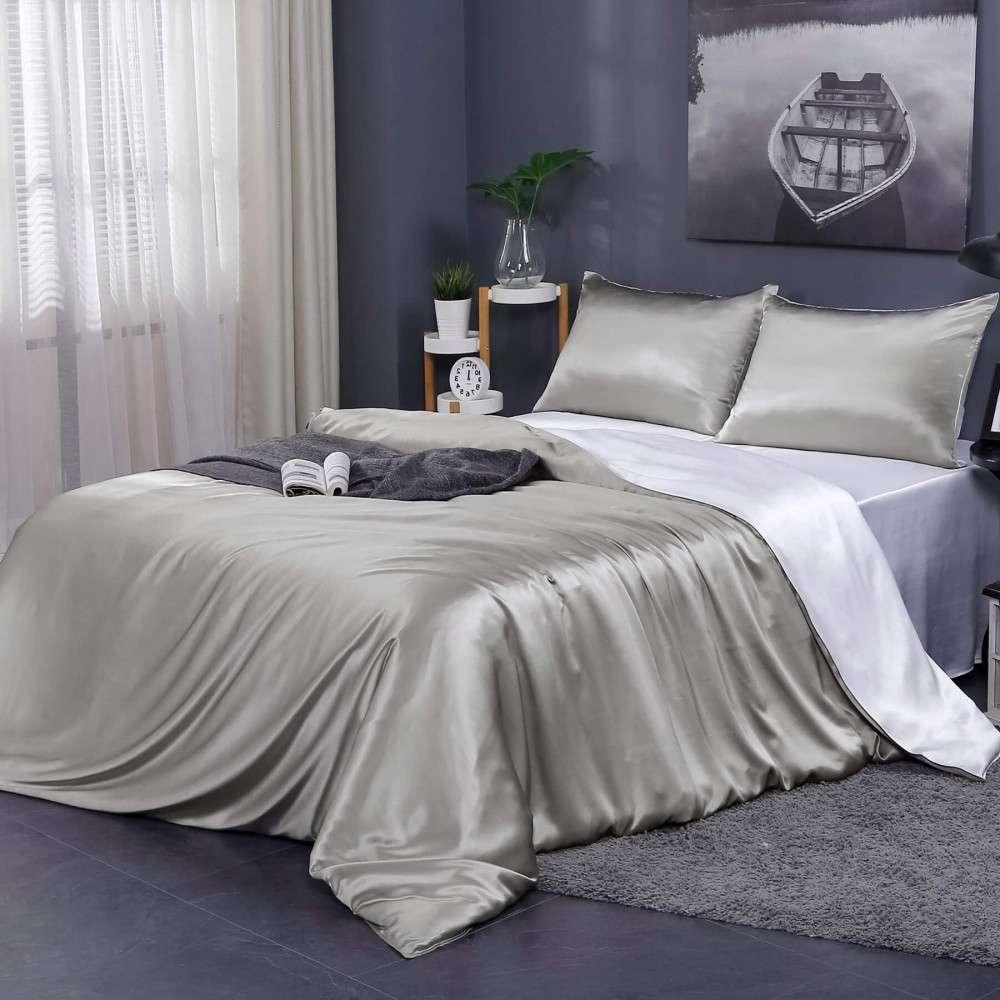 真丝床上用品套装 制造商