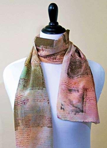 真丝绉纱围巾 制造商