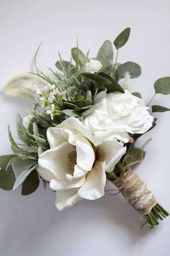 丝绸绿叶婚礼花 制造商