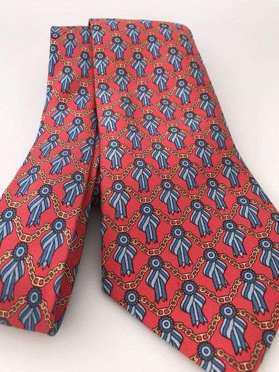 真丝印花领带 制造商