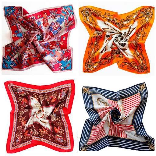 真丝印花围巾 制造商