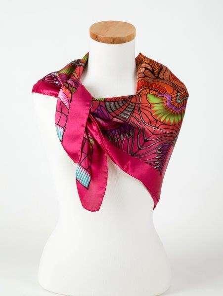 真丝缎围巾 制造商