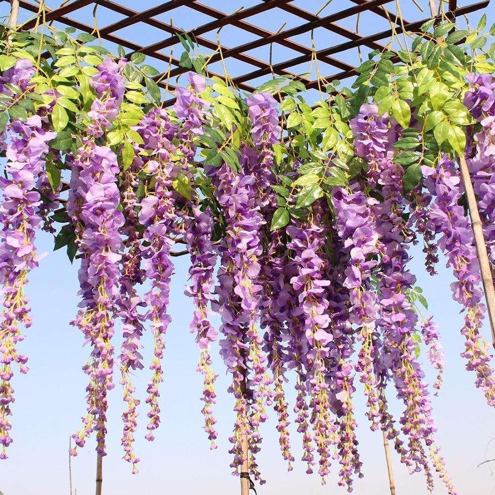丝绸紫藤花 制造商