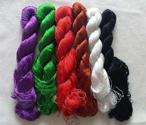 Silk Yarn Embroidery Manufacturers