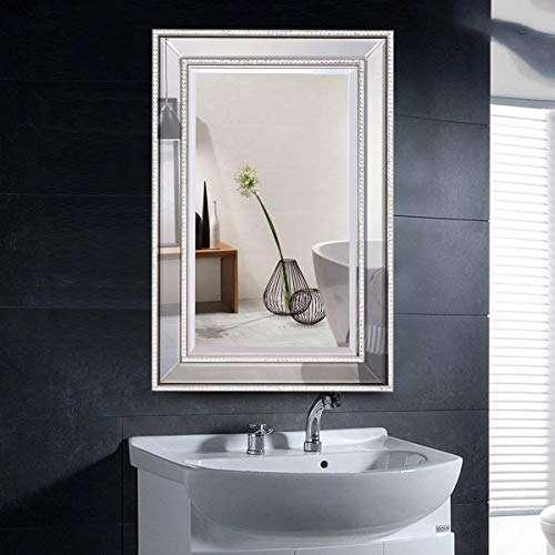 银色玻璃浴室镜 制造商