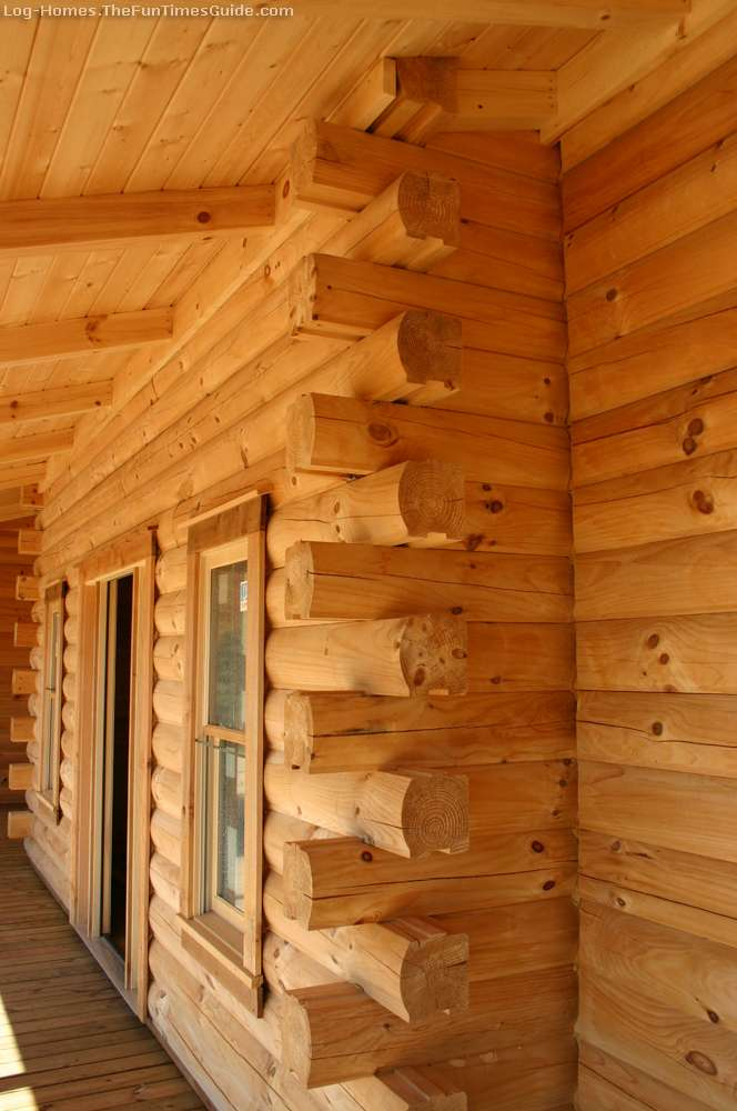 Solid Log Home Manufacturers