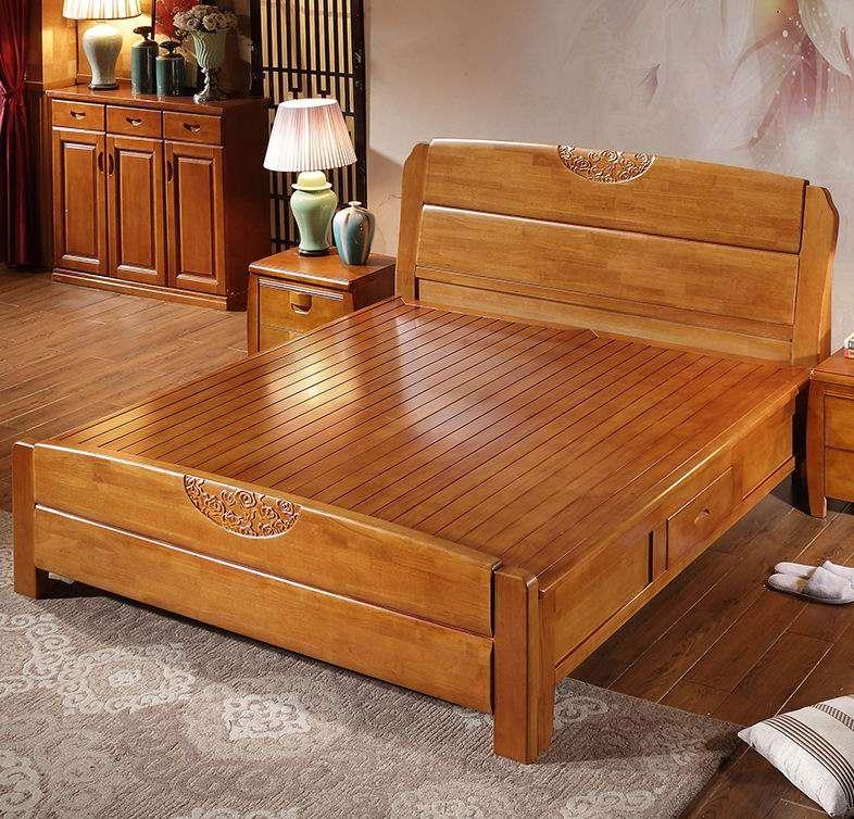 实木酒店床 制造商