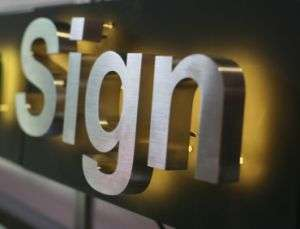 Stainless Steel Advertising Sign Manufacturers