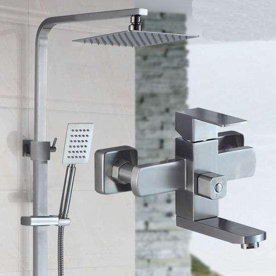 Stainless Steel Bathroom Shower Set Manufacturers