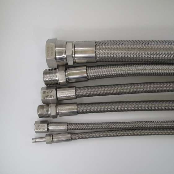 Stainless Steel Braided Hydraulic Hose Manufacturers
