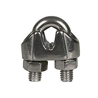 不锈钢电缆夹 制造商