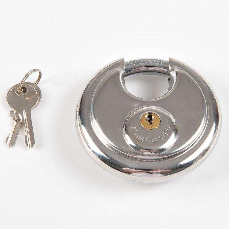 不锈钢圆盘锁 制造商