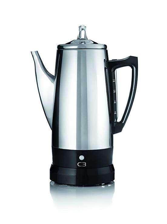 不锈钢电热咖啡壶 制造商