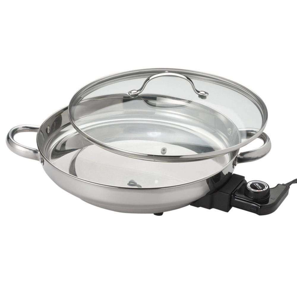 Stainless Steel Electric Fry Pan Manufacturers