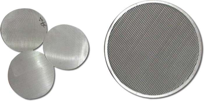 Stainless Steel Filter Mesh Disc Manufacturers