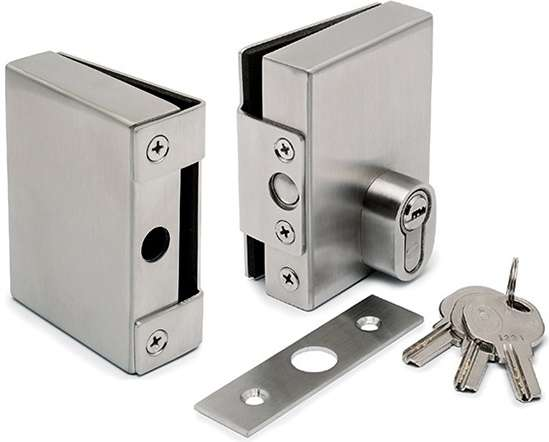 不锈钢玻璃门锁 制造商