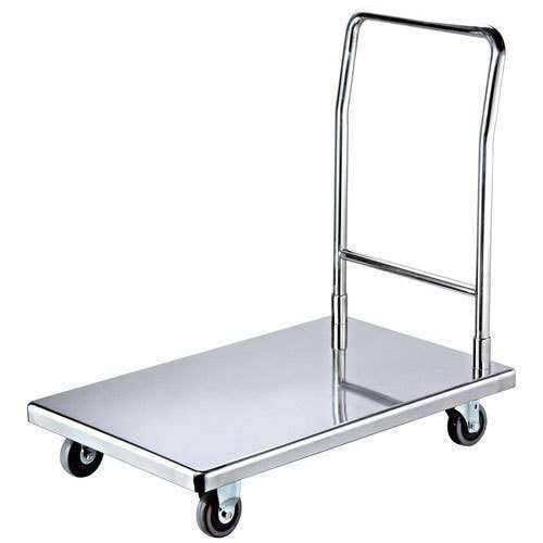 Stainless Steel Hand Trolley Manufacturers