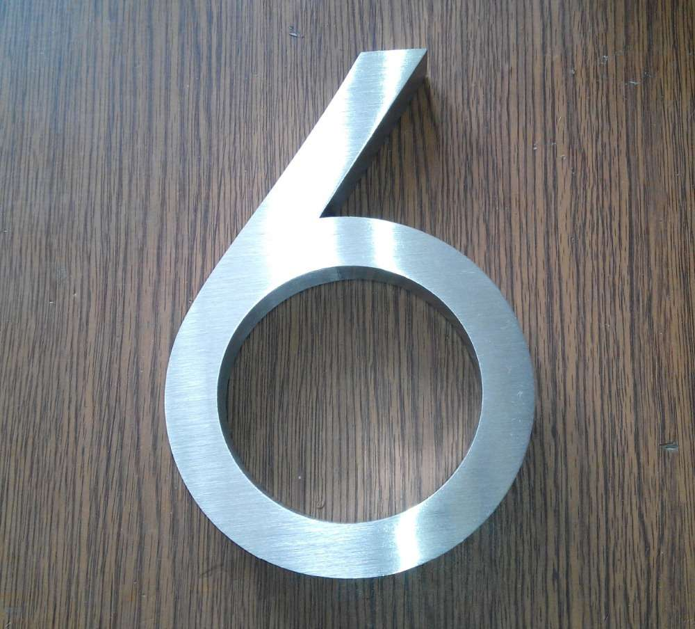 Stainless Steel House Letter Manufacturers