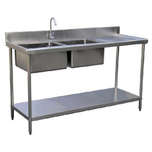 不锈钢厨房水槽桌 制造商