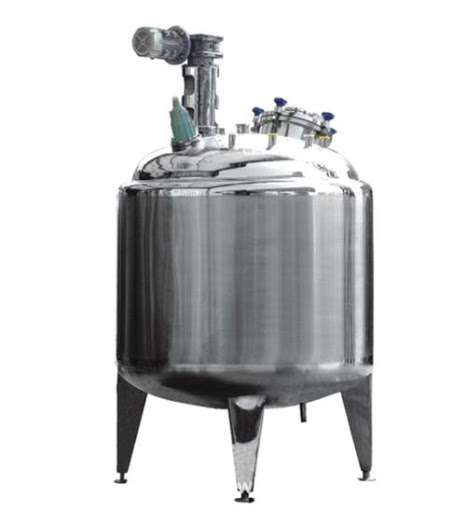 Stainless Steel Mixing Tank Heating Manufacturers