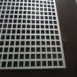 Stainless Steel Perforated Sheet Square Manufacturers