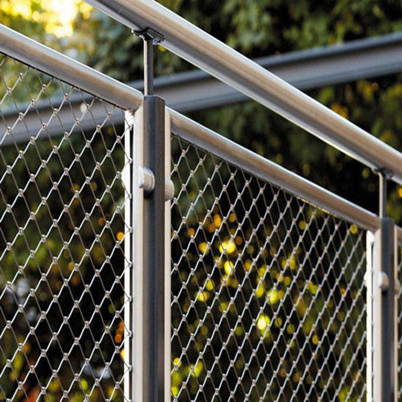 Stainless Steel Wire Fence Manufacturers