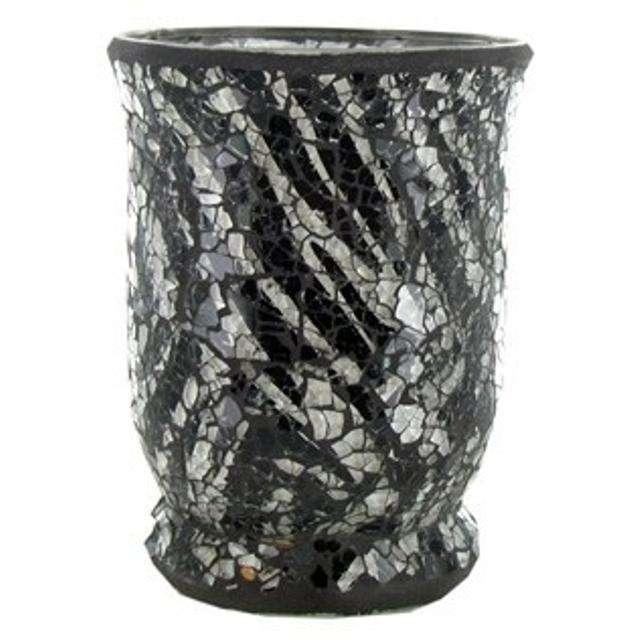 斑马马赛克玻璃花瓶 制造商