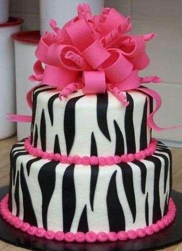 斑马印花生日蛋糕 制造商
