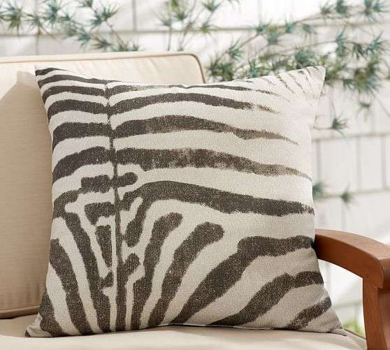 Zebra Print Outdoor Cushion Importers