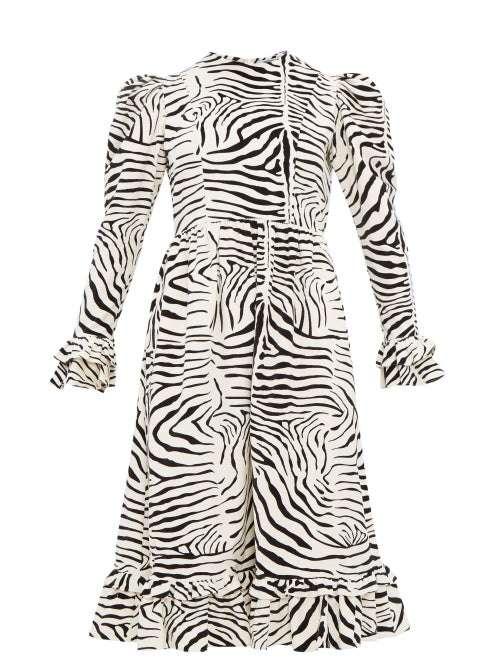 Zebra Print Wedding Dres Manufacturers