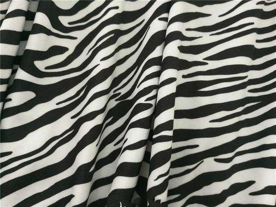 Zebra Stripe Printed Nylon Fabric Manufacturers