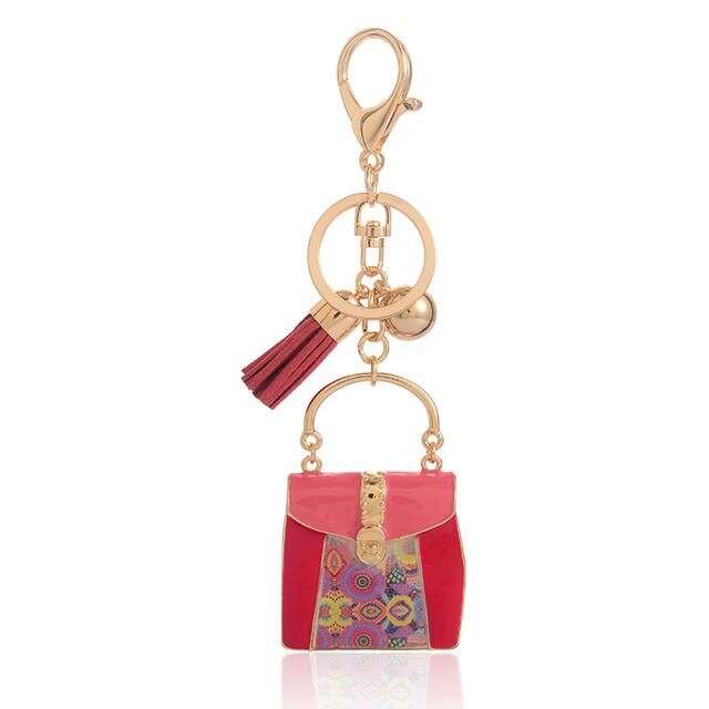 Zinc Alloy Bag Keychain Manufacturers