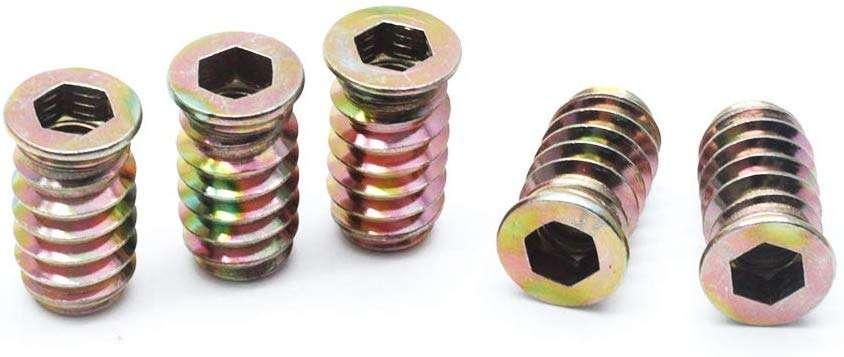 锌合金插入螺母 制造商