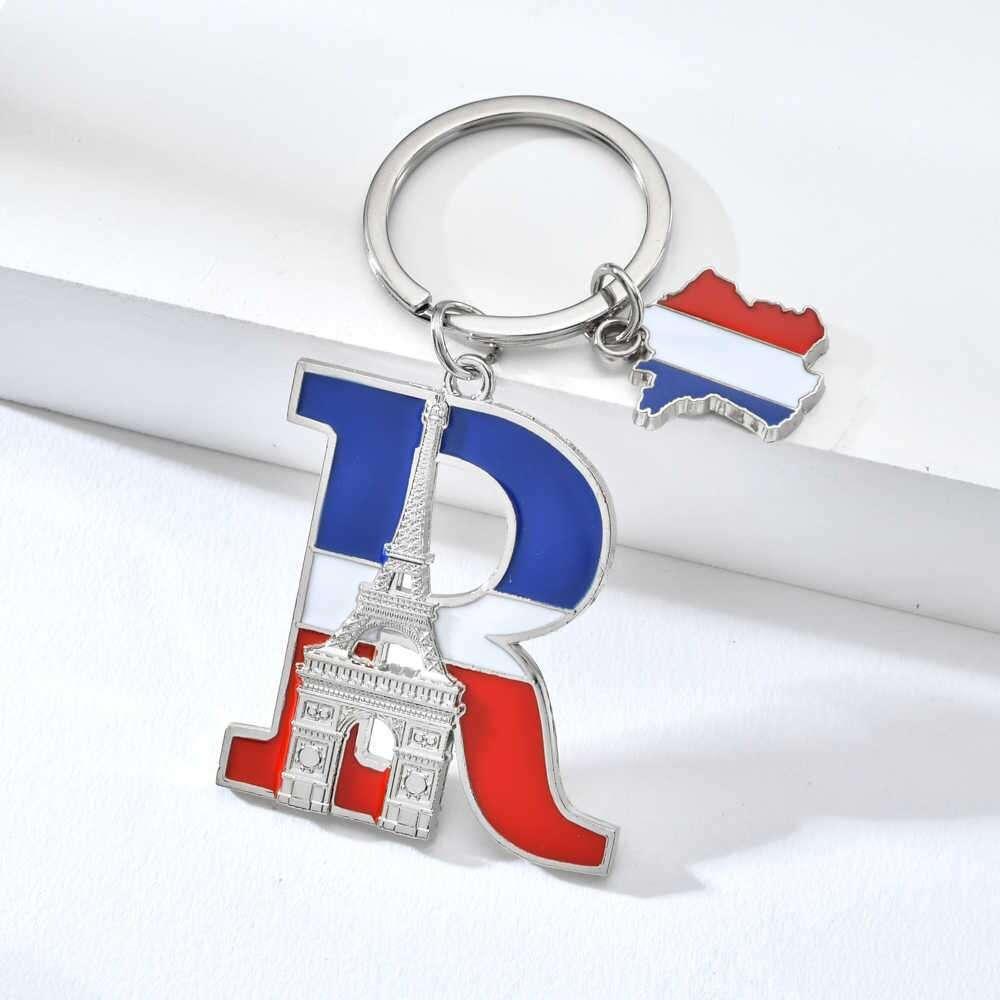 Zinc Alloy Letter Key Chain Manufacturers
