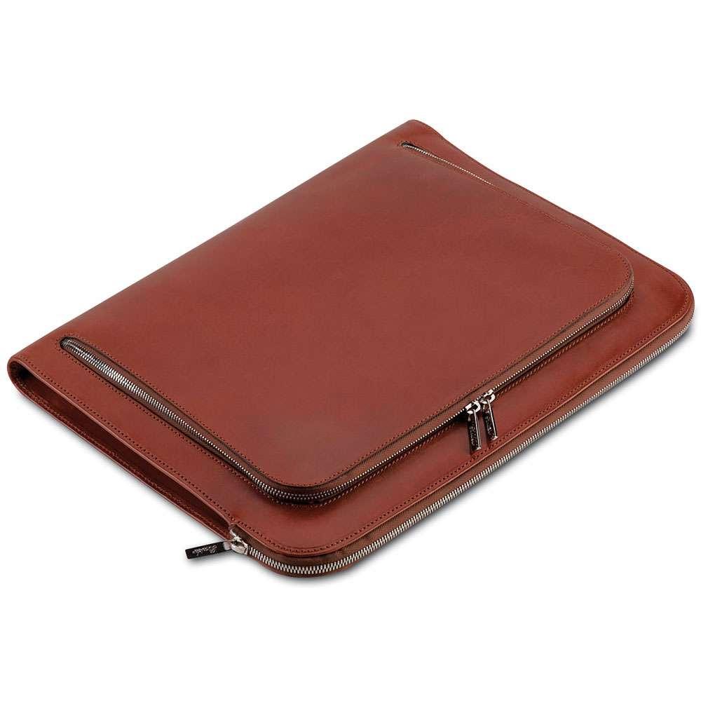 Zipper Leather Document Case Manufacturers