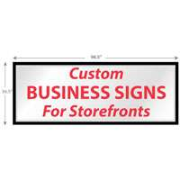 Store Front Signs Manufacturers