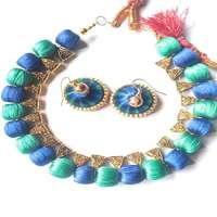 Silk Thread Necklace Manufacturers
