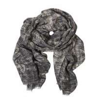 印花羊毛纱巾围巾 制造商