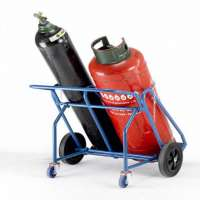 Double Gas Cylinder Trolley Manufacturers