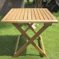 木制花园桌 制造商
