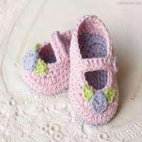 婴儿钩针短靴 制造商